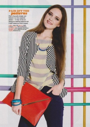 Karina Dupanova for Seventeen Magazine / March 2013, Malaysia