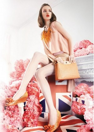 Lera Loginova for Patty Shoes spring-summer 2013 Campaign