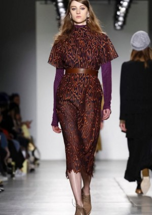 Lera Kvasovka @ New York Fashion Week / Fall Winter 2016 NY