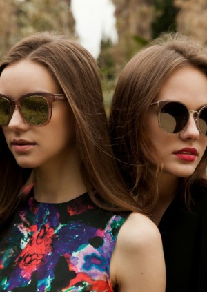 Nastya Mayer for Harry Mason Sunglasses Collection