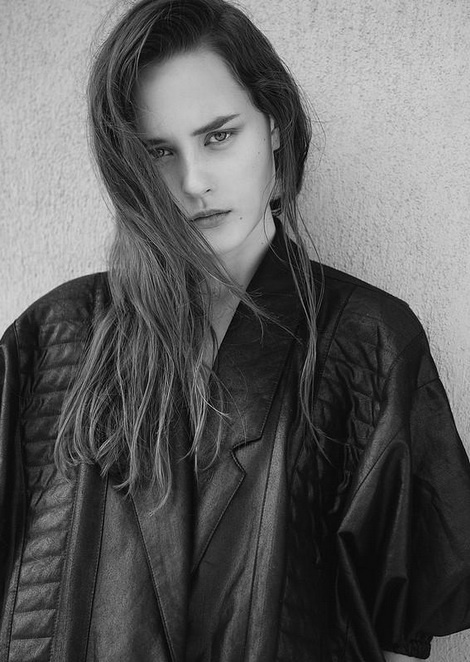Karina Dupanova new model test from Elite NY