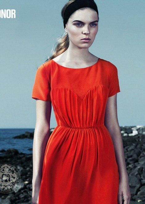 Kate Kosushkina for Honor spring-summer 2012 Campaign