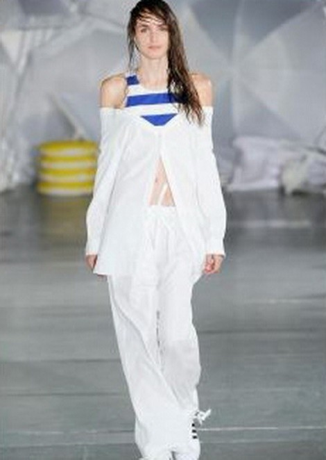 Stasha Yatchuk @ Fashion Week / Spring - Summer 2015