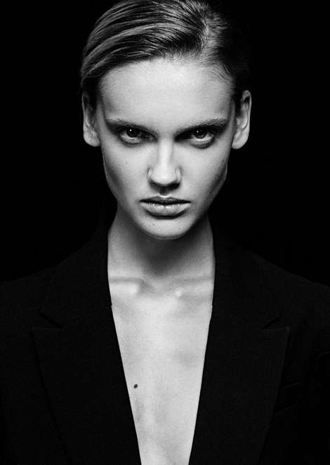 Vera Ivanauskene model test from Milan by Andrews Kovas