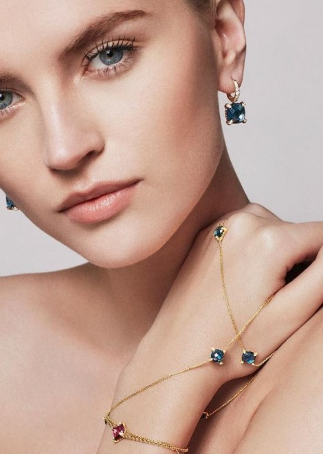 Anabela Belikova for David Yurman Jewelry Collection
