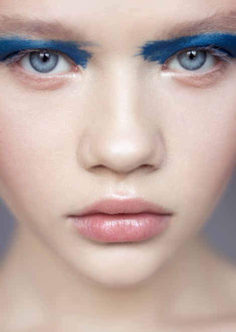 Zhenya Dranitsa new beauty shooting by Nastya Alesuk