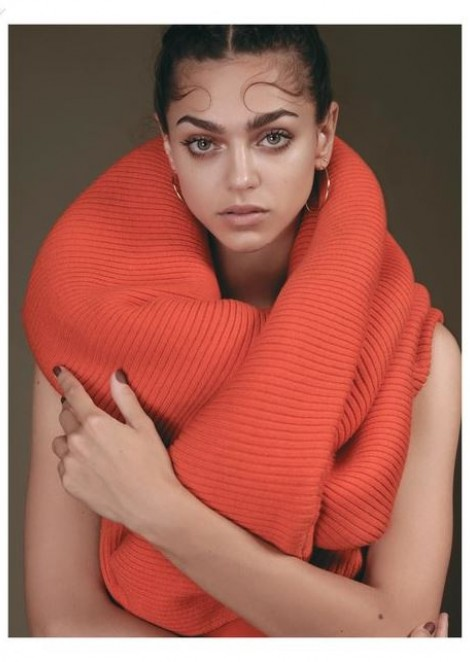 "Zhenya Katava for PPAPER Taiwan shooting ""Colors for the Fall'"