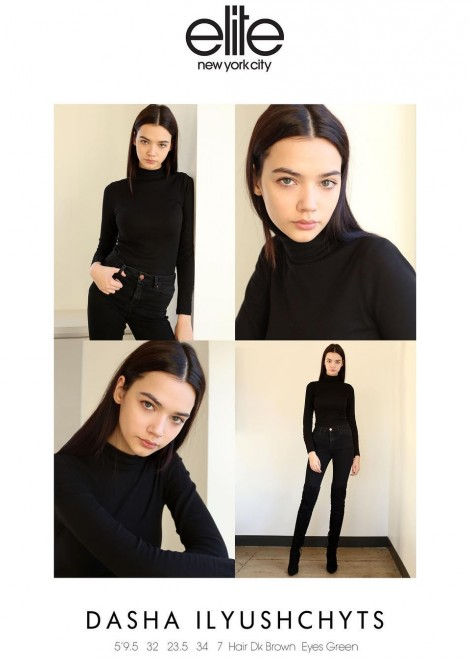 Dasha Iljuschits @ Elite Model Management NY