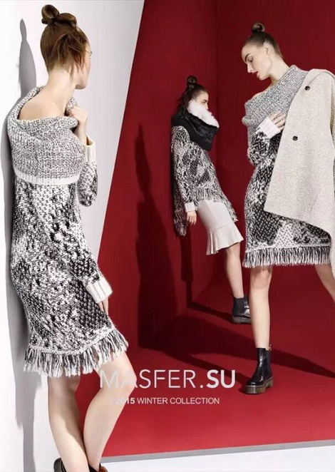 Кристина Трофимук для Masfer / 2015 Winter Collection