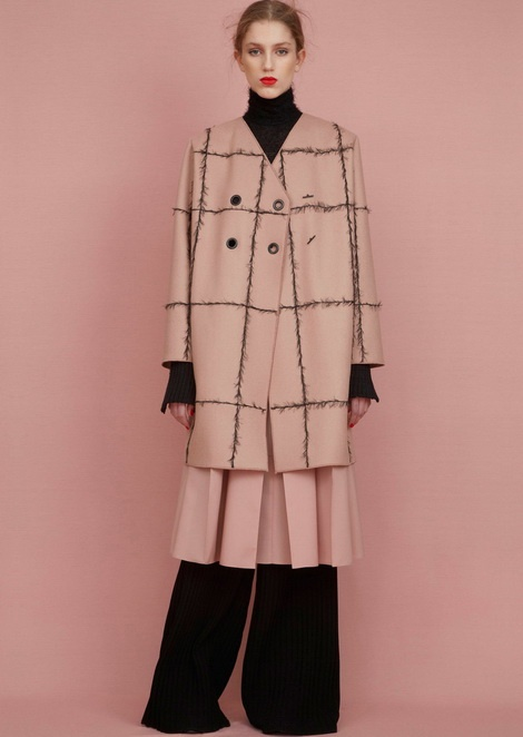 Сабина Лобова для Veronique Leroy Pre-Fall 2015