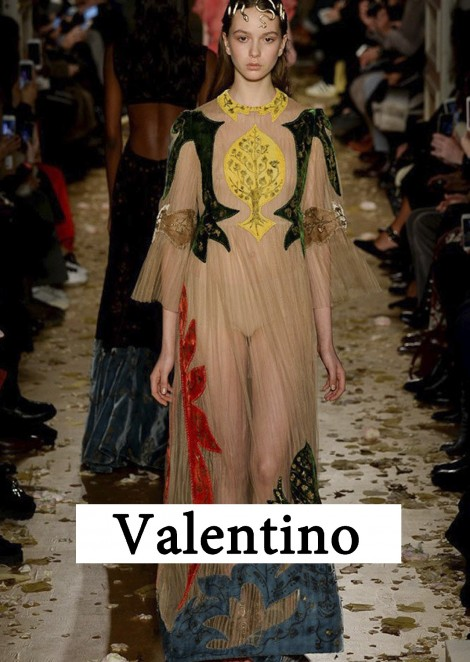 Саша Пугачёва на показе Valentino / Spring 2016 Couture (Paris)
