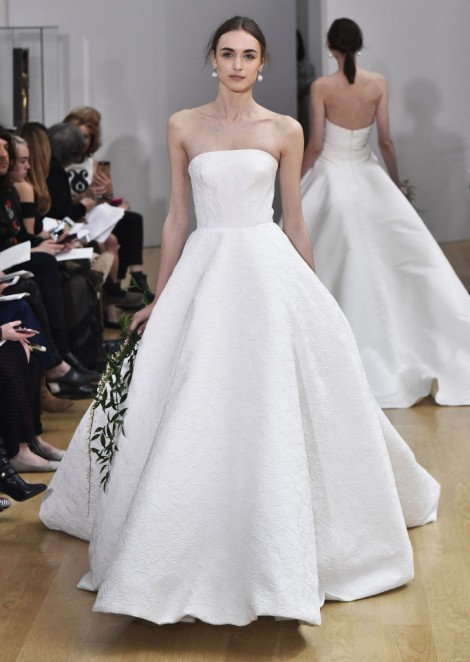 Сташа Я и Виктория К на показе Oscar de la Renta / Spring 2018 Bridal Collection. Cташа закрыла показ